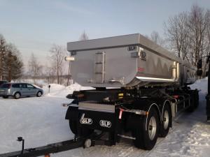 4-axlad Dubbelkassettvagn