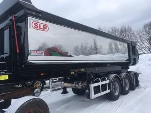 3-axlad Tipptrailer, Finland