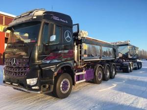 76-tons Kassettekipage, Finland