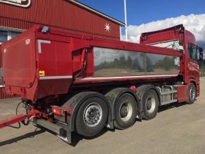 Tridem kassettbil SLP/Scania, Finland