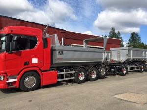 62-tons kassettekipage SLP/Scania, Sverige
