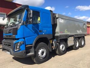 4-axlad gruvbil SLP/Volvo, Sverige/Boliden