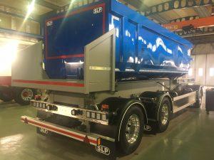 3-axlad tippkassettvagn 300 ton, SLP Sverige