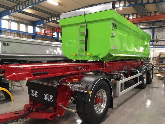 3-axlad kassettvagn 30 ton, SLP Sverige