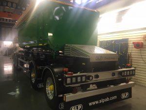 4-axlad kassettvagn 36 ton, SLP Sverige