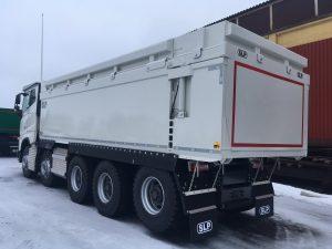 5-axlad gruvbil Volvo, Sverige/Malmfälten