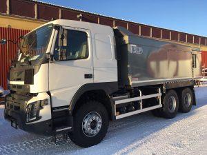 3-axlad gruvbil Volvo, Sverige/Boliden