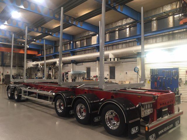 5-axlad timmervagn SLP, Sverige