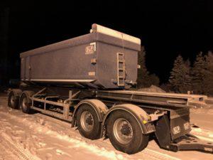4-axlad kassettvagn SLP, Sverige