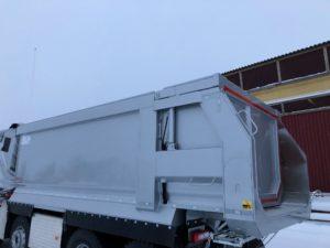 4-axlad dumper Volvo/SLP, Sverige